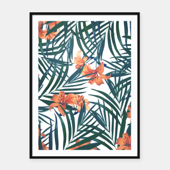 Thumbnail image of Tropical Lilies 2 Framed poster, Live Heroes