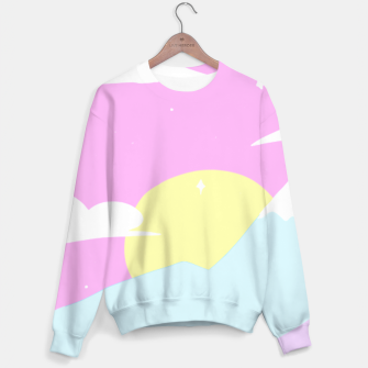 Miniatur Pastel Night Sweater, Live Heroes