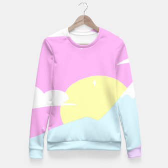 Miniatur Pastel Night Fitted Sweater, Live Heroes