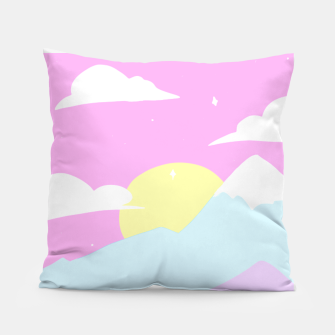 Miniatur Pastel Night Pillow, Live Heroes