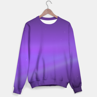 Miniatur Purple Space Sweater, Live Heroes