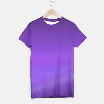 Miniatur Purple Space Tee, Live Heroes