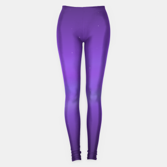 Miniatur Purple Space Leggings, Live Heroes