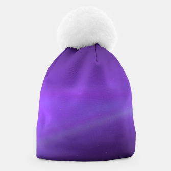 Miniatur Purple Space Beanie, Live Heroes