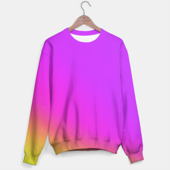 Miniatur Sunset Fade Sweater, Live Heroes