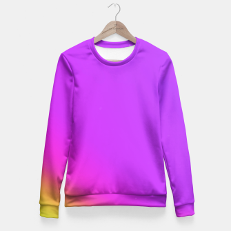 Miniatur Sunset Fade Fitted Sweater, Live Heroes
