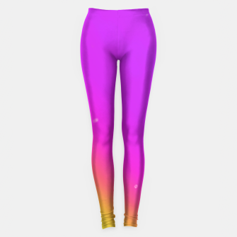 Miniatur Sunset Fade Leggings, Live Heroes