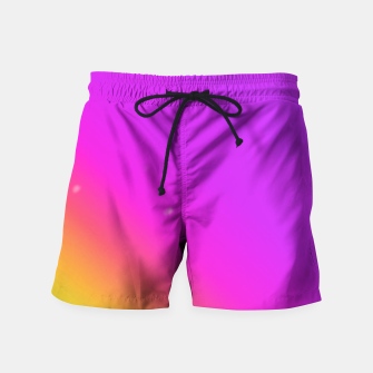 Miniatur Sunset Fade Swim Shorts, Live Heroes