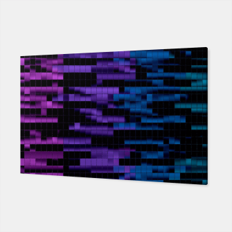 Thumbnail image of Mosaic Color Bars Canvas, Live Heroes