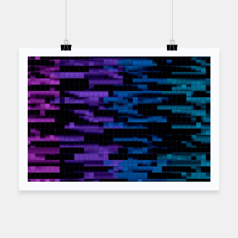 Thumbnail image of Mosaic Color Bars Poster, Live Heroes