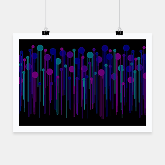 Thumbnail image of Colorful Dots & Drips Poster, Live Heroes