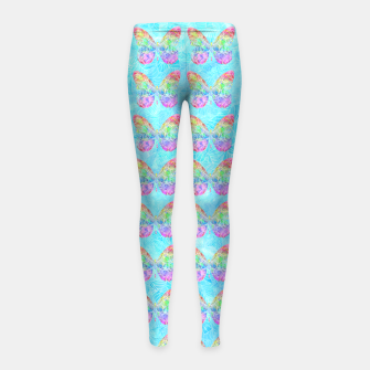 Thumbnail image of btw Girl's Leggings, Live Heroes