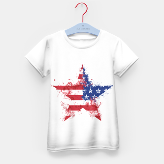 Thumbnail image of Americana Kid's T-shirt, Live Heroes
