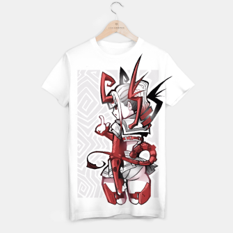 Thumbnail image of cutie bootie red T-shirt, Live Heroes