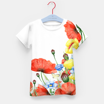 Thumbnail image of Poppies Kids Tshirt, Live Heroes
