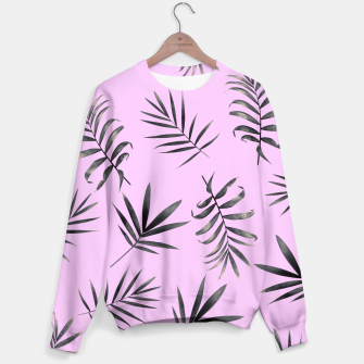 Miniatur Palm Leaves Sweater, Live Heroes