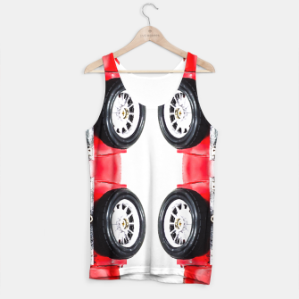 Miniatur red classic car Tank Top, Live Heroes
