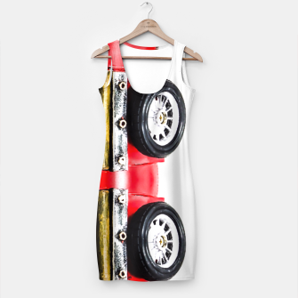Thumbnail image of red classic car Simple Dress, Live Heroes
