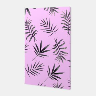 Thumbnail image of Palm Leaves Canvas, Live Heroes