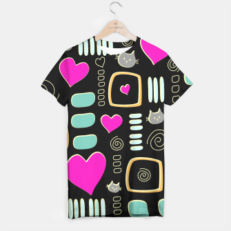 Thumbnail image of Love Cats T-shirt, Live Heroes