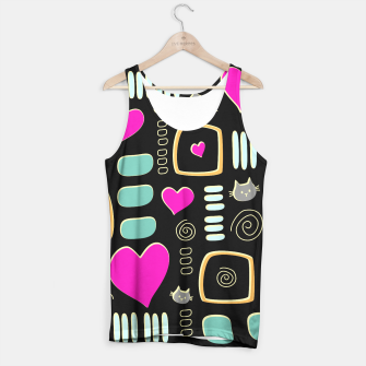 Thumbnail image of Love Cats Tank Top, Live Heroes