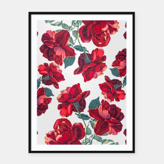 Thumbnail image of Roses Framed poster, Live Heroes