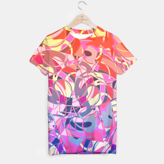 Thumbnail image of Summer Sunset Abstract - Purples and Reds T-shirt, Live Heroes