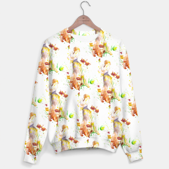 Miniatur Floral Abstract - Fall  Sweater, Live Heroes