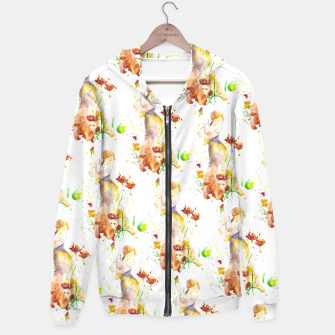 Miniatur Floral Abstract - Fall  Hoodie, Live Heroes
