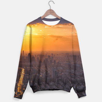 Thumbnail image of Tianjin City at Sunset Sweater, Live Heroes