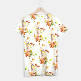 Thumbnail image of Floral Abstract - Fall  T-shirt, Live Heroes