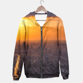 Miniatur Tianjin City at Sunset Hoodie, Live Heroes