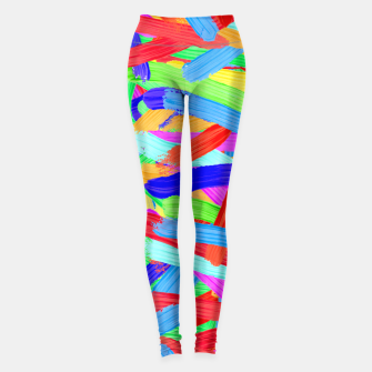 Colorful Finger Painting Leggings thumbnail image