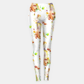 Thumbnail image of Floral Abstract - Fall  Leggings, Live Heroes
