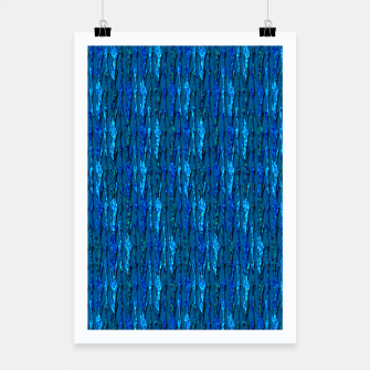 Miniatur Scales of Blue Abstract Poster, Live Heroes