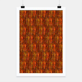 Scales of Fall Colors Abstract Poster thumbnail image