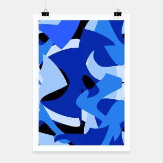 A-201 Abstract Blues Combo   Poster thumbnail image
