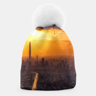 Thumbnail image of Tianjin City at Sunset Beanie, Live Heroes