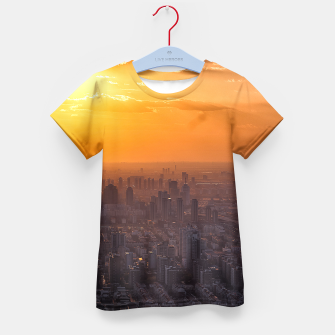 Thumbnail image of Tianjin City at Sunset Kid's T-shirt, Live Heroes