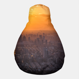 Thumbnail image of Tianjin City at Sunset Pouf, Live Heroes