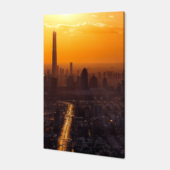 Thumbnail image of Tianjin City at Sunset Canvas, Live Heroes