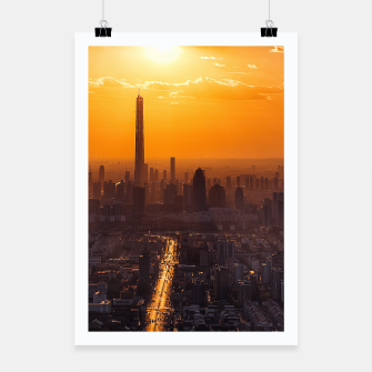 Thumbnail image of Tianjin City at Sunset Poster, Live Heroes