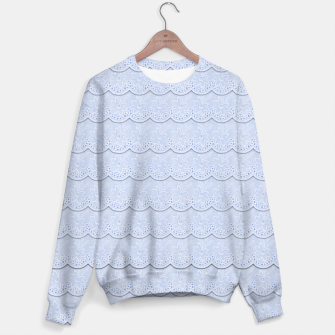 Miniatur Serenity Blue Faux Lace  Sweater, Live Heroes