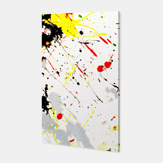 Thumbnail image of Paint Splatter Canvas, Live Heroes