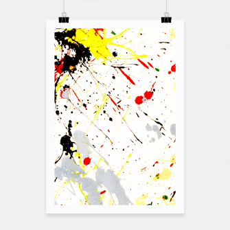 Thumbnail image of Paint Splatter Poster, Live Heroes
