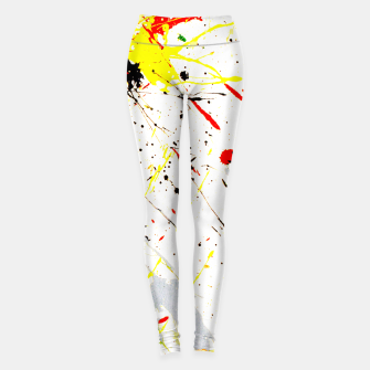 Thumbnail image of Paint Splatter Leggings, Live Heroes