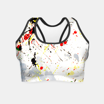 Paint Splatter Crop Top thumbnail image
