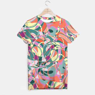 Thumbnail image of Colorful Abstract - Greens and Golds T-shirt, Live Heroes