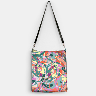 Thumbnail image of Colorful Abstract - Greens and Golds Handbag, Live Heroes