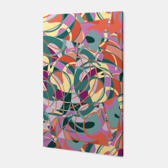 Thumbnail image of Colorful Abstract - Greens and Golds Canvas, Live Heroes
